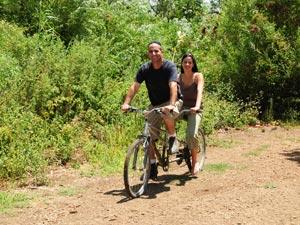 טנדם (אופניים זוגיים), לשני מבוגרים